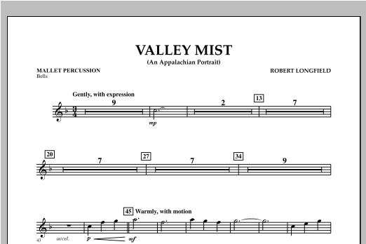Valley Mist (An Appalachian Portrait) - Mallet Percussion Sheet Music