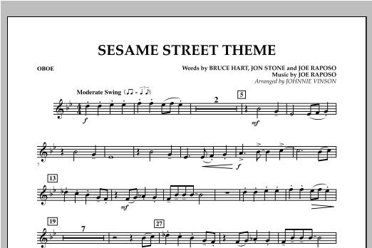 Sesame Street Theme - Oboe Sheet Music