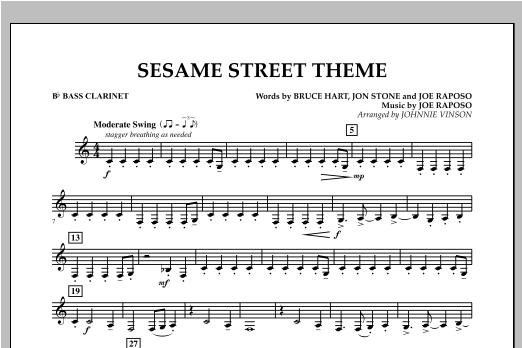 Sesame Street Theme - Bb Bass Clarinet Sheet Music