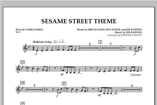 Sesame Street Theme - Mallet Percussion Sheet Music