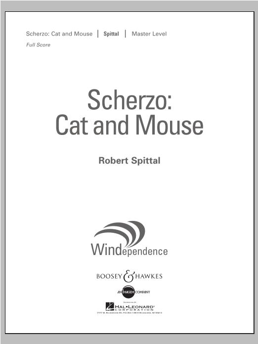 Scherzo: Cat And Mouse - Conductor Score (Full Score) Sheet Music
