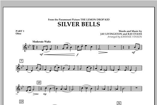 Silver Bells - Pt.1 - Oboe Sheet Music