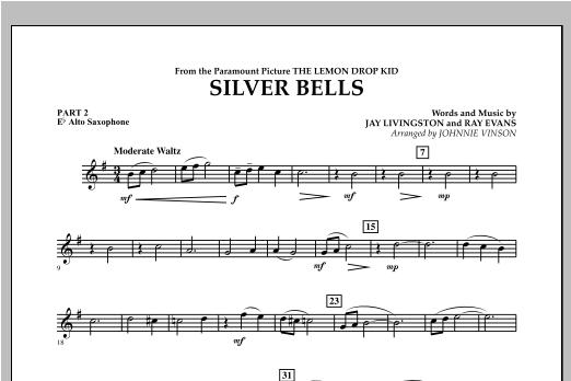 Silver Bells - Pt.2 - Eb Alto Saxophone Sheet Music