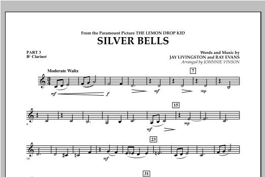 Silver Bells - Pt.3 - Bb Clarinet Sheet Music