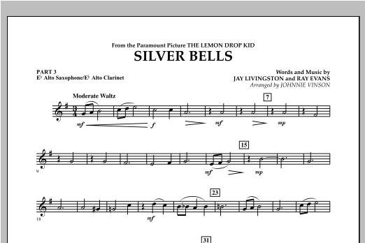 Silver Bells - Pt.3 - Eb Alto Sax/Alto Clar. Sheet Music