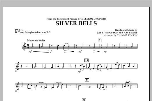 Silver Bells - Pt.4 - Bb Tenor Sax/Bar. T.C. Sheet Music