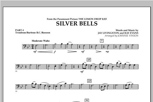 Silver Bells - Pt.4 - Trombone/Bar. B.C./Bsn. Sheet Music