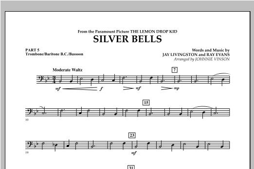 Silver Bells - Pt.5 - Trombone/Bar. B.C./Bsn. Sheet Music