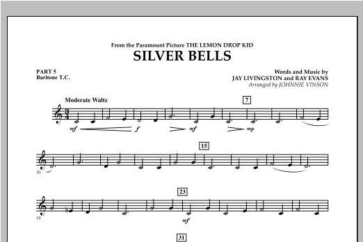 Silver Bells - Pt.5 - Baritone T.C. Sheet Music