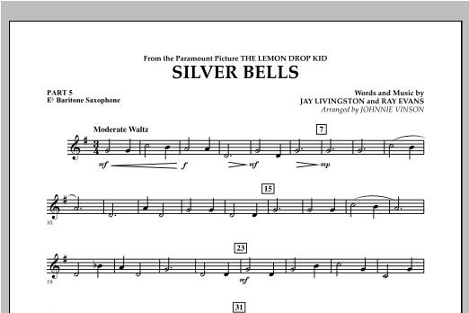 Silver Bells - Pt.5 - Eb Baritone Saxophone Sheet Music