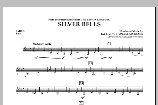 Silver Bells - Pt.5 - Tuba Sheet Music