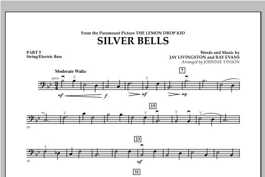 Silver Bells - Pt.5 - String/Electric Bass Sheet Music