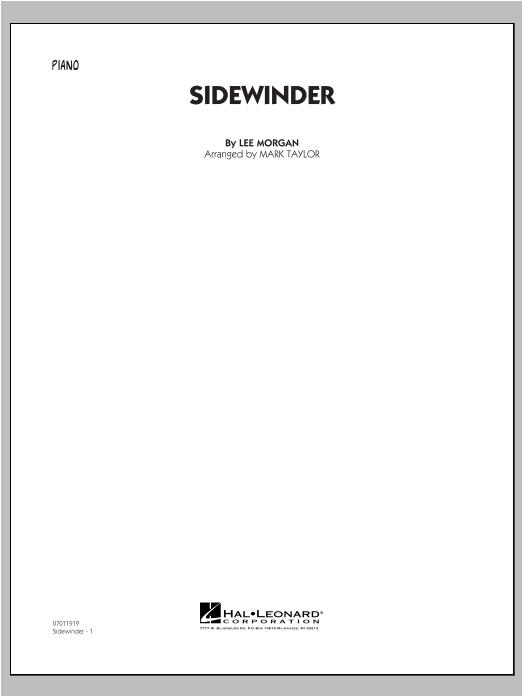 Sidewinder - Piano Sheet Music