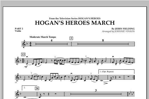 Hogan's Heroes March - Pt.2 - Violin Sheet Music