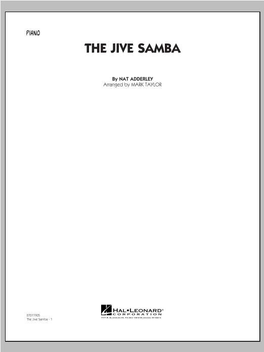 The Jive Samba - Piano Sheet Music