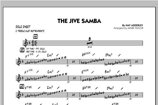 The Jive Samba - C Solo Sheet Sheet Music