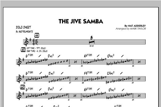 The Jive Samba - Bb Solo Sheet Sheet Music