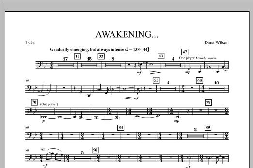 Awakening... - Tuba Sheet Music