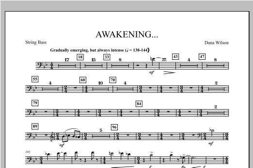 Awakening... - String Bass Sheet Music