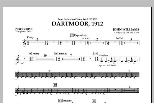 Dartmoor, 1912 (from War Horse) - Percussion 2 Sheet Music