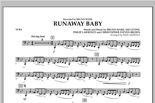 Runaway Baby - Tuba Sheet Music