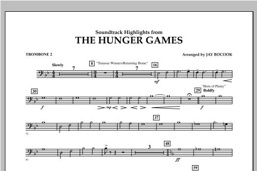 The Hunger Games (Soundtrack Highlights) - Trombone 2 Sheet Music