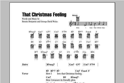 That Christmas Feeling Sheet Music