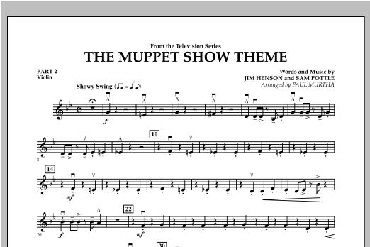 The Muppet Show Theme - Pt.2 - Violin Sheet Music