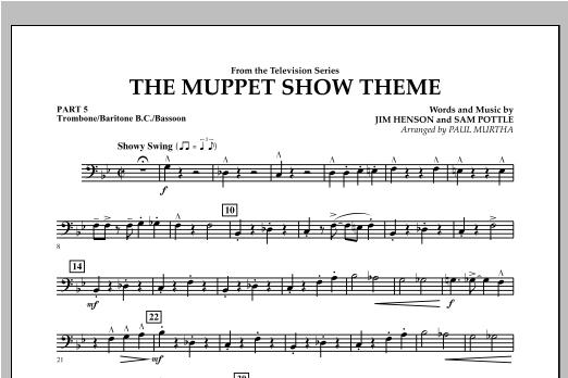 The Muppet Show Theme - Pt.5 - Trombone/Bar. B.C./Bsn. Sheet Music