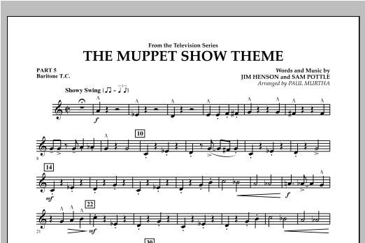The Muppet Show Theme - Pt.5 - Baritone T.C. Sheet Music