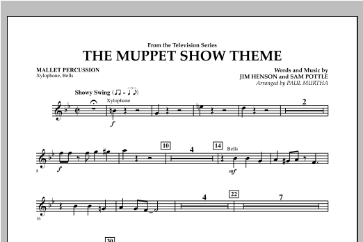The Muppet Show Theme - Mallet Percussion Sheet Music