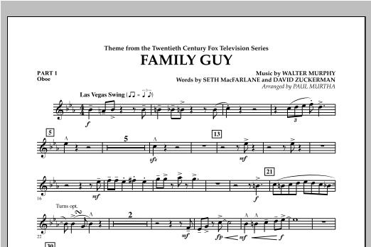 Family Guy (Theme) - Pt.1 - Oboe Sheet Music