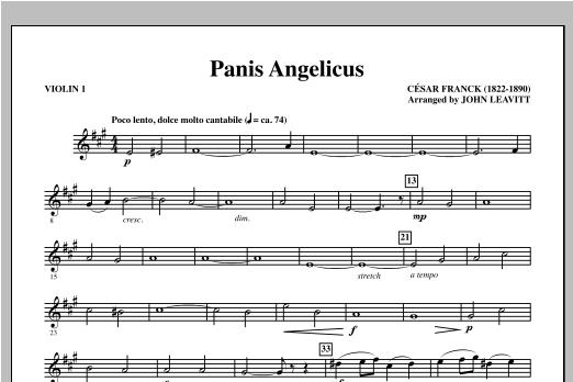 Panis Angelicus - Violin 1 (Choir Instrumental Pak)