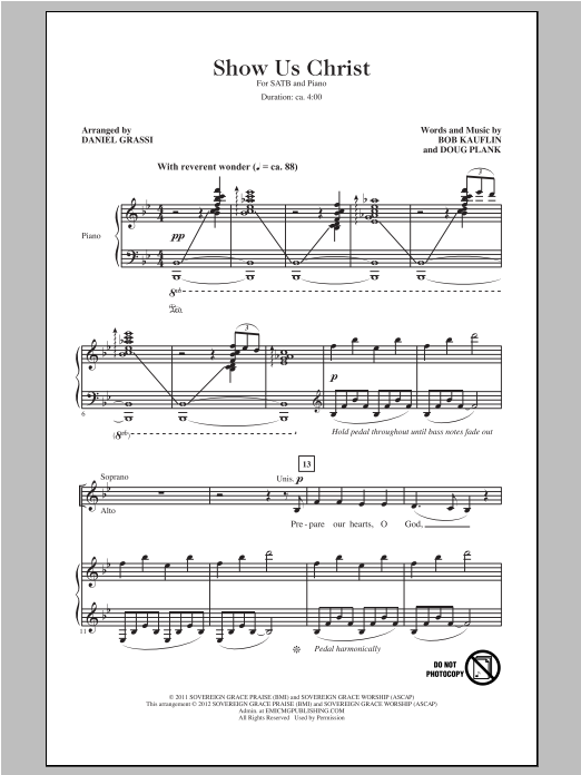 Show Us Christ (SATB Choir)