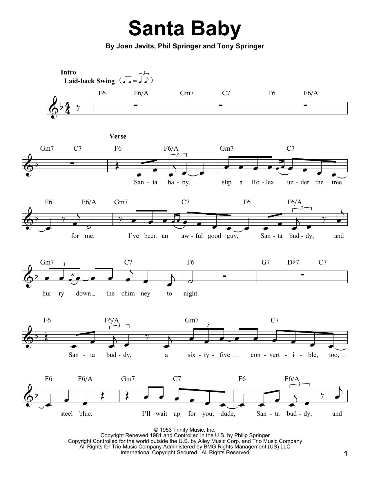 Santa Baby (Pro Vocal)