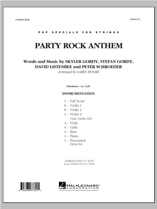 Party Rock Anthem - Full Score Sheet Music