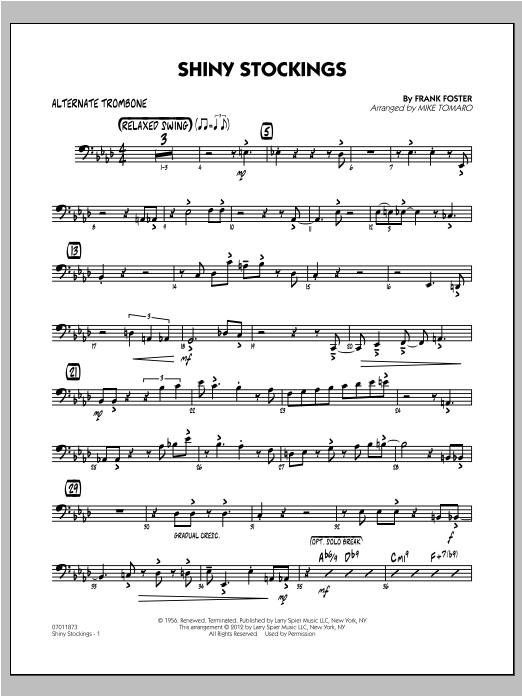 Shiny Stockings - Alternate Trombone (Jazz Ensemble)