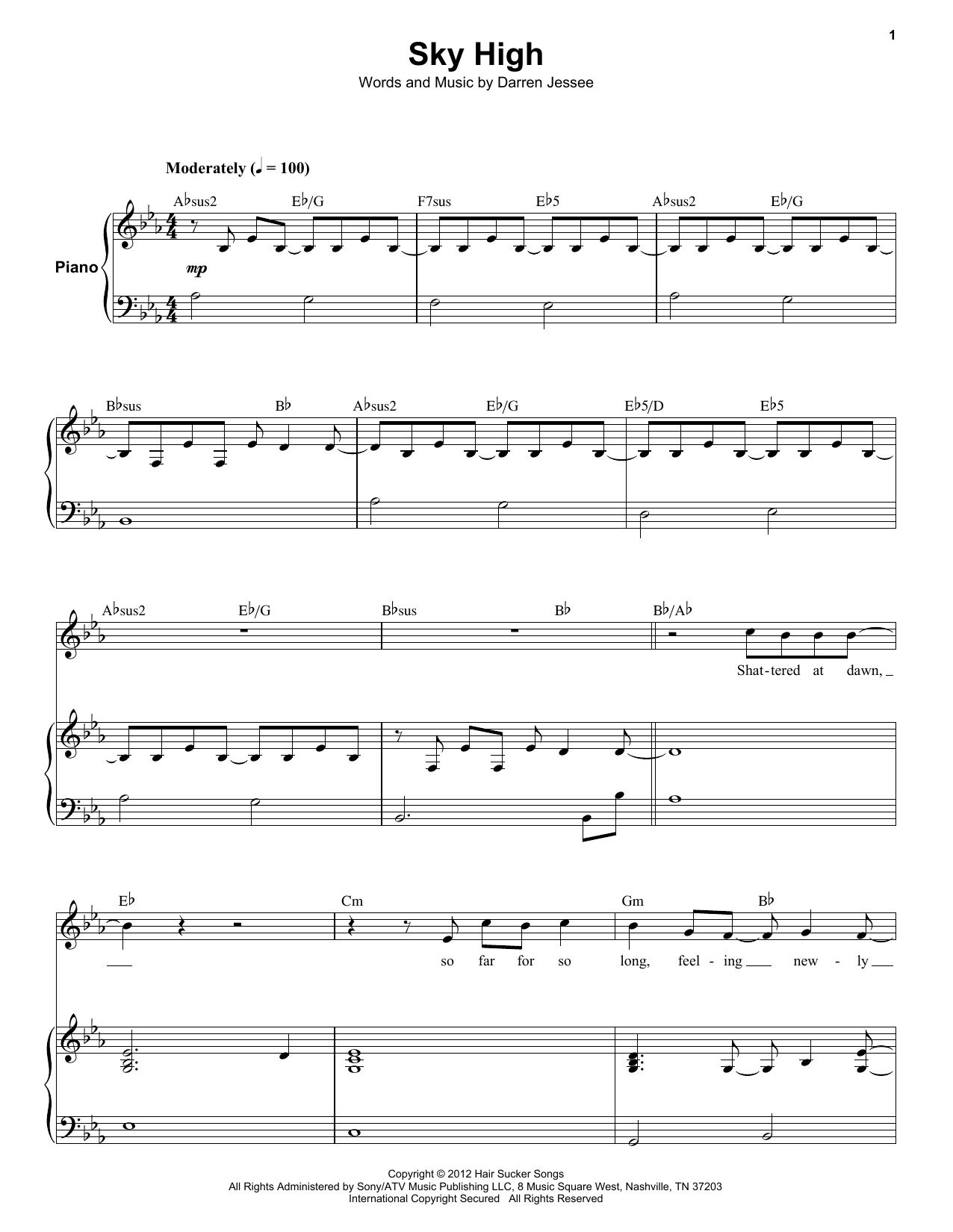 Sky High (Keyboard Transcription)