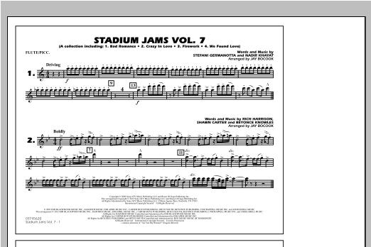 Stadium Jams Vol. 7 (Ladies Of Pop) - Flute/Piccolo Sheet Music