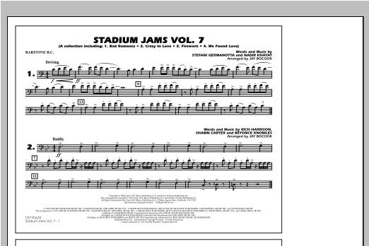 Stadium Jams Vol. 7 (Ladies Of Pop) - Baritone B.C. Sheet Music