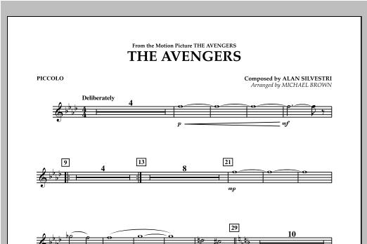 The Avengers - Piccolo Sheet Music