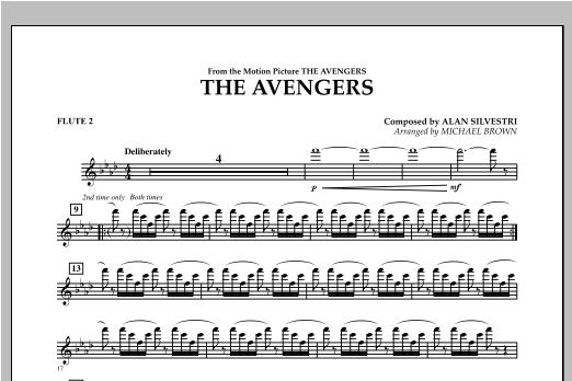 The Avengers - Flute 2 Sheet Music