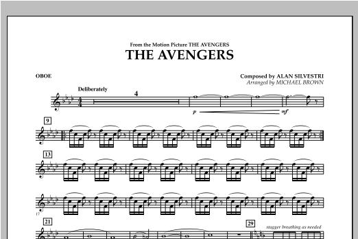 The Avengers - Oboe Sheet Music