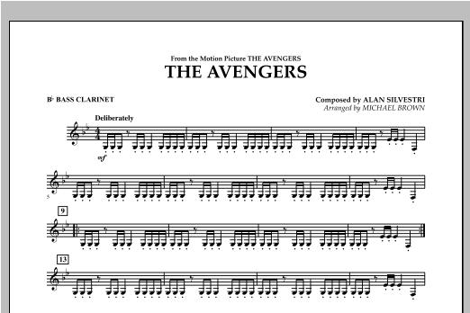 The Avengers - Bb Bass Clarinet Sheet Music