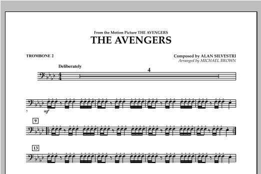 The Avengers - Trombone 2 (Concert Band)