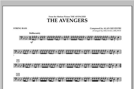 The Avengers - String Bass Sheet Music