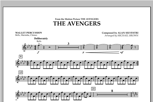 The Avengers - Mallet Percussion Sheet Music