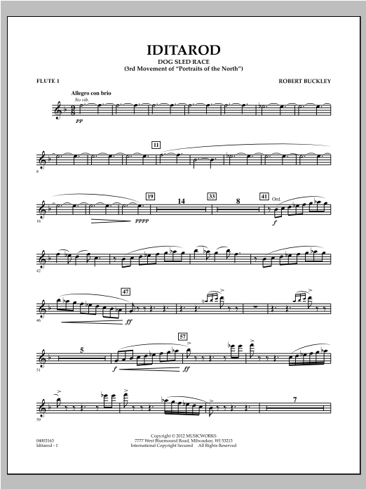 Iditarod - Flute 1 Sheet Music