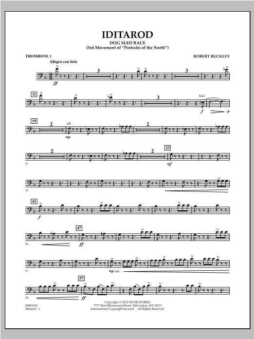 Iditarod - Trombone 1 Sheet Music
