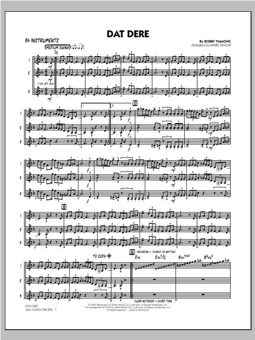 Jazz Combo Pak #35 (Cannonball Adderley) - Bb Instruments Sheet Music
